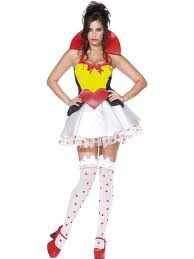 'Queen of Hearts' Sexy Fancy Dress (Smiffys 33279)