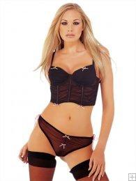 Bustier and Thong Set (Classified TP2299)