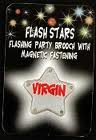 Flashing 'Virgin' Badge
