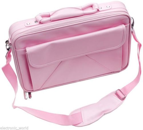 Laptop / Notebook Carry Case Bag - Large - Baby Pink