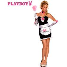 Playboy 'Mansion Maid' Sexy Fancy Dress (Secret Wishes 889327)