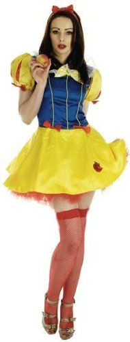 Snow White 'Fairy Tale Princess' Sexy Fancy Dress (Fun Shack 2098)
