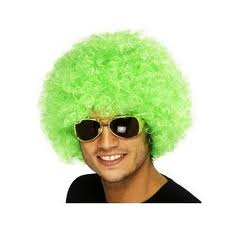 'Afro' Wig - Green  (Smiffys 34496)