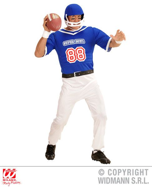 'American Football Player' Fancy Dress (Widmann 3922/3923)
