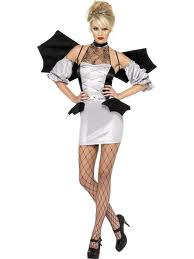 'Bat Vamp' Sexy Fancy Dress (Smiffys 35658)