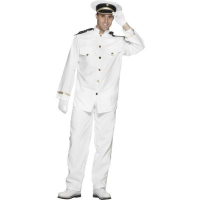 'Captain' Sexy Men's Fancy Dress Costume (Smiffys 24850)