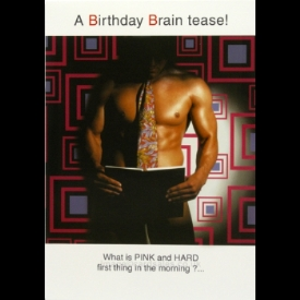 A Birthday Brain Teaser!...  - Birthday Card  (4Play)