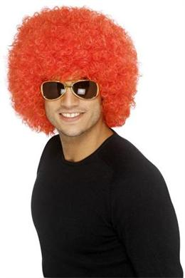 Afro Wig - Red (Smiffys 34498)