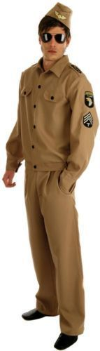 American G.I. Army Fancy Dress (Fun Shack 2426)