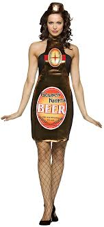Beer Bottle Fancy Dress (Rasta Imposta 6032)