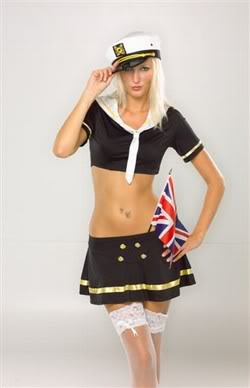 Bon Voyage - Sexy Sailor Fancy Dress (X2X) Plus Size