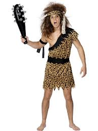 Caveman Fancy Dress Costume (Smiffys 20443)