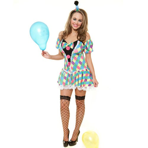 Cheeky Clown - Sexy Fancy Dress (Role Play RP0044)