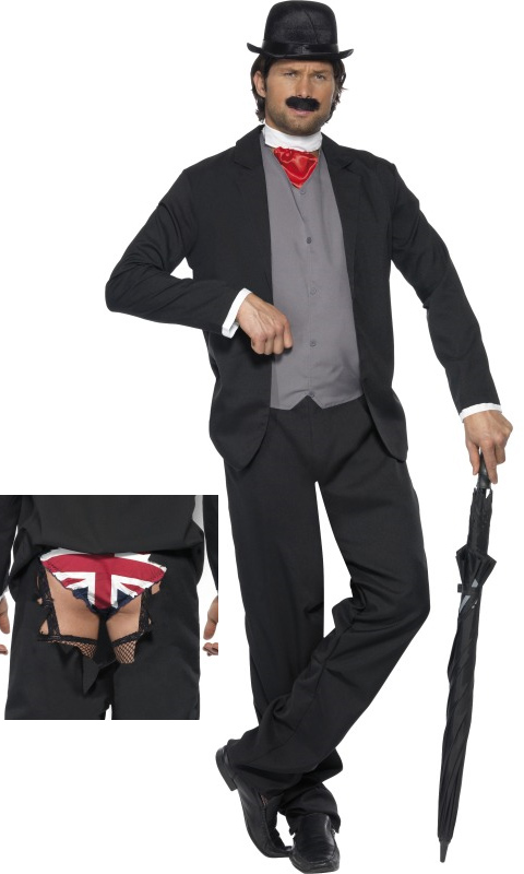 Cheeky Old English Gent - Fancy Dress (Smiffys 35309)
