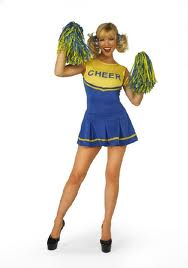 Cheerleader - Sexy Fancy Dress (Classified GW2392)