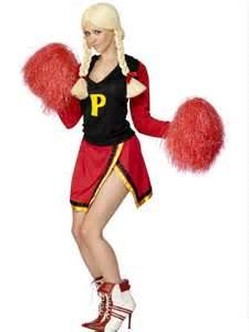 Cheerleader - Sexy Fancy Dress Costume (Smiffys 30822)