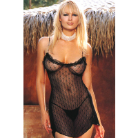 Chemise and G-String (Leg Avenue 8786)