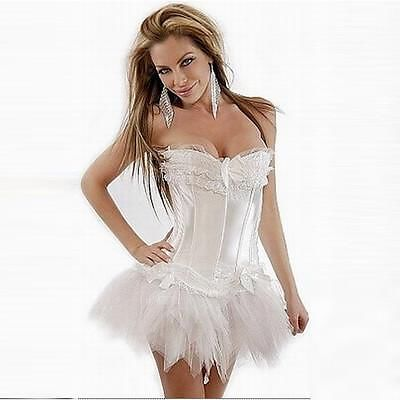 Corset, G-String and Tutu Skirt (C55 0328)