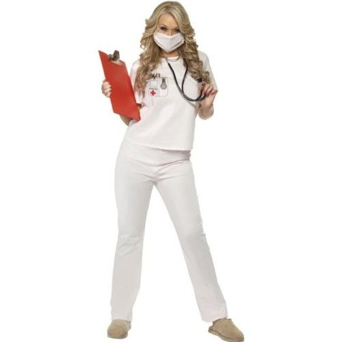 Cutie Nurse - Fancy Dress Costume (Smiffys 33425)