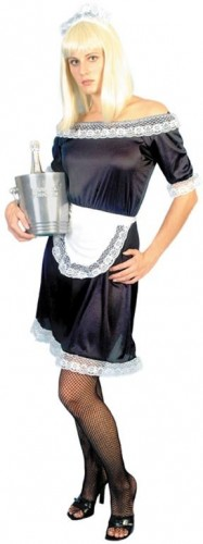 French Maid - Sexy Fancy Dress (Smiffys 96316)