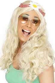 Groovy Wig (Smiffys 22859) - Blonde