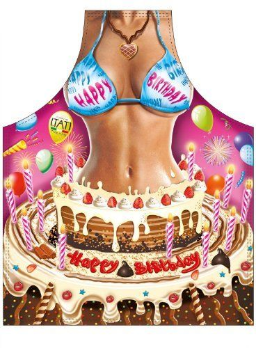 Happy Birthday - Novelty Apron
