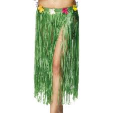 Hawaiian Hula Skirt - 73cm - Green (Smiffys 28984)