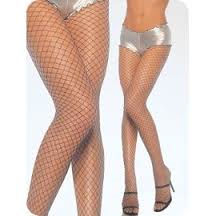Industrial Fishnet Tights - Black (Leg Avenue 9006)