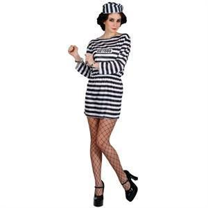 Jailbird Cutie - Sexy Fancy Dress (Wicked EF-2125)