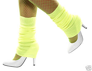 Leg Warmers - Yellow