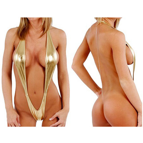 Monokini - Metallic Gold (M3)