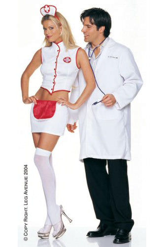 Naughty Nurse - Sexy Fancy Dress (Leg Avenue 8873)