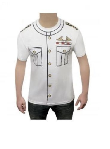 Navy Captain - Novelty T-Shirt (Wicked Fun)