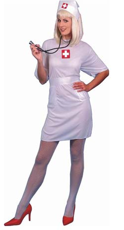 Nurse - Sexy Fancy Dress (Smiffys 98812)