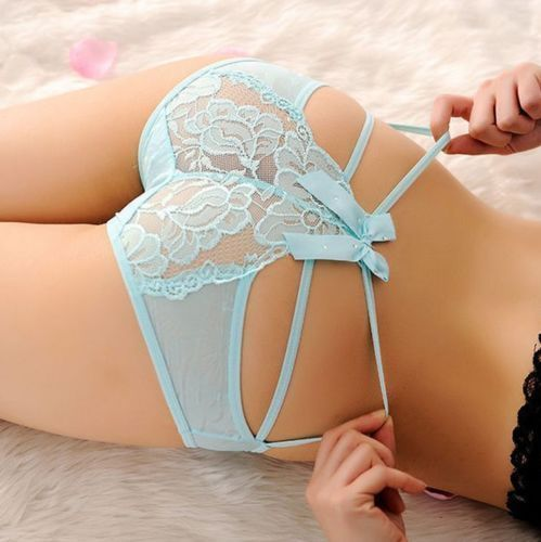 Ribbon Knickers - Turquoise
