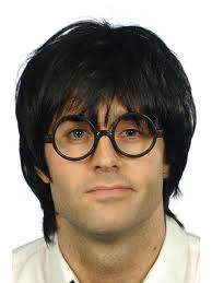 Schoolboy 'Nerd' 'Harry Potter' Spectacles
