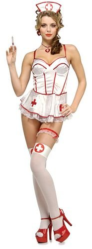 Sponge Bath Nurse - Sexy Fancy Dress (Secret Wishes)