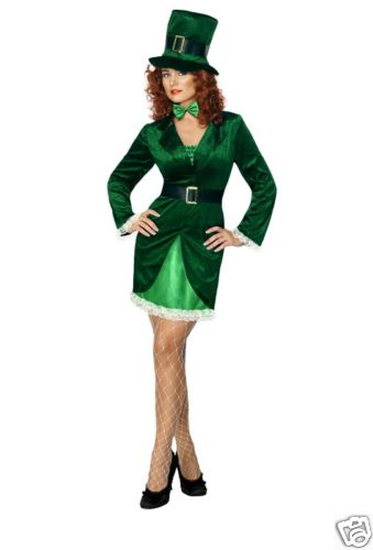 St Patricks - Sexy Fancy Dress Costume (Smiffys 30463)