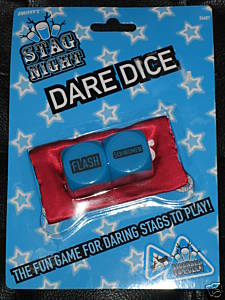 Stag Night Dare Dice - Naughty Gift