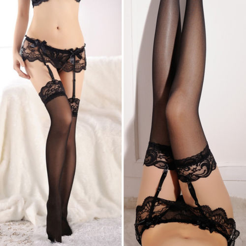 Suspender Belt - Black (S2)