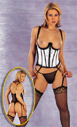 Underbust Corset and G-String (Cottelli 240079)