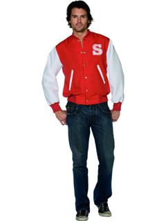 Varsity Jacket - Fancy Dress (Smiffys 31111)